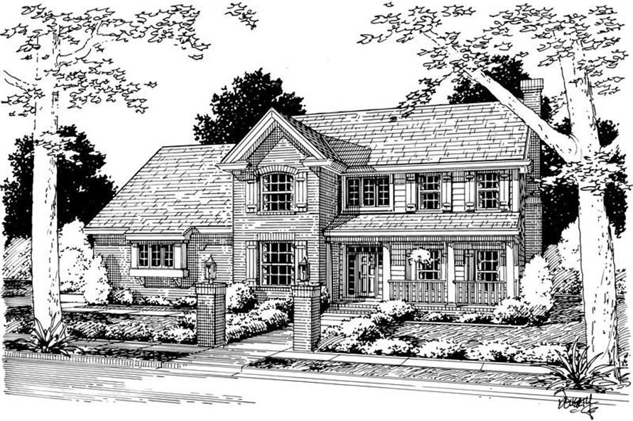 Main image for house plan # 5423