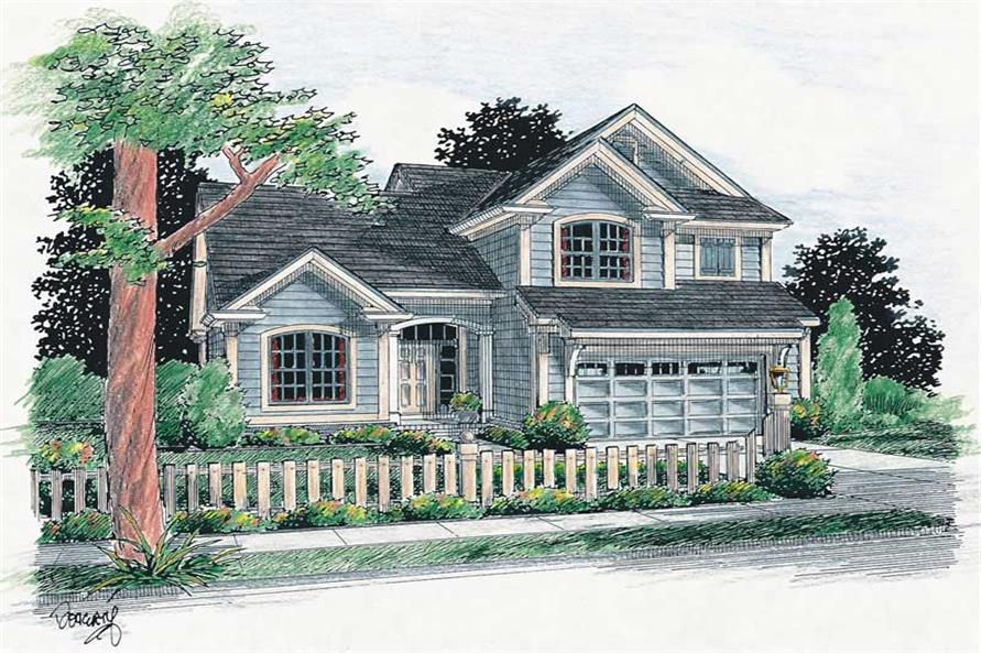 Main image for house plan # 5422