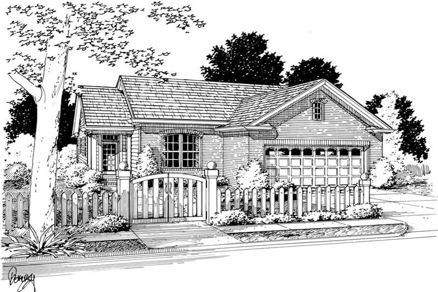 Main image for house plan # 5419