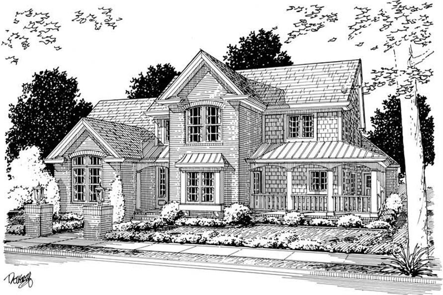 Main image for house plan # 5430