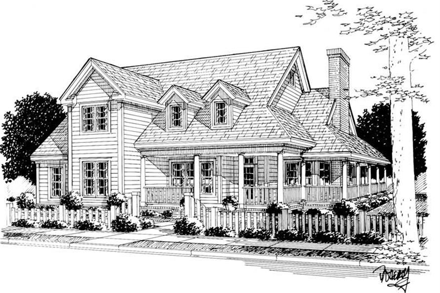 Main image for house plan # 5875