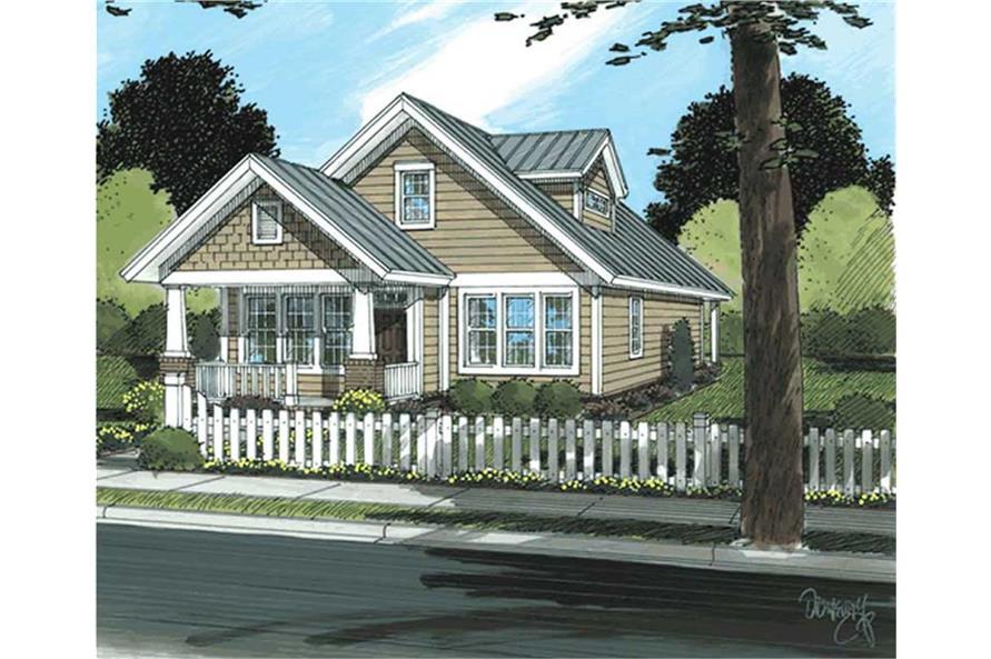 178-1144: Home Plan Rendering