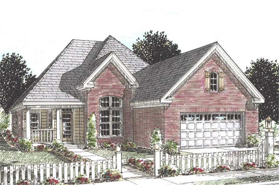 Main image for house plan # 11783