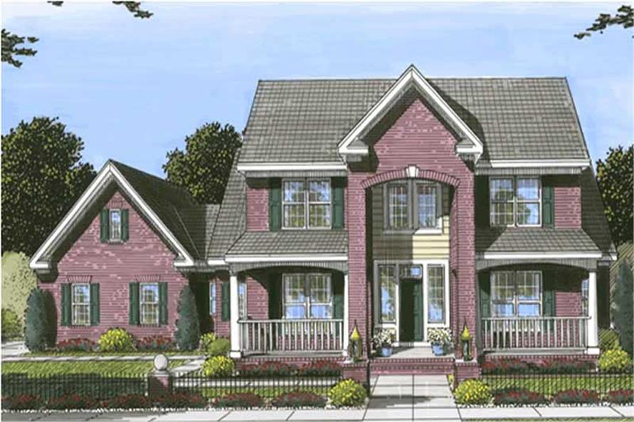 Main image for house plan # 11746