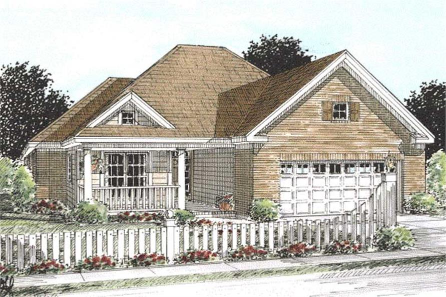 Main image for house plan # 11769