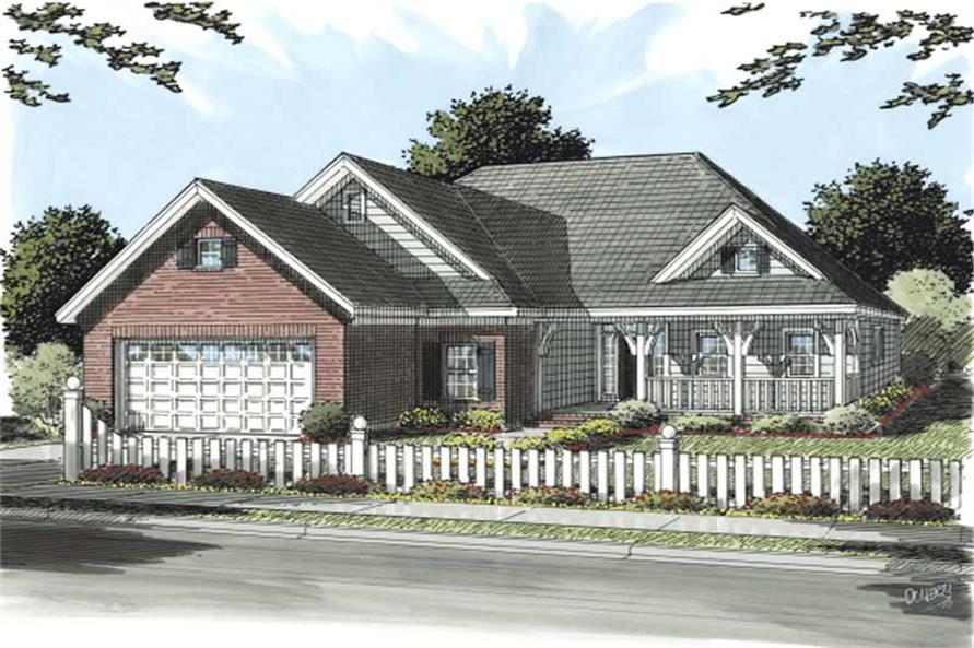 Main image for house plan # 11767