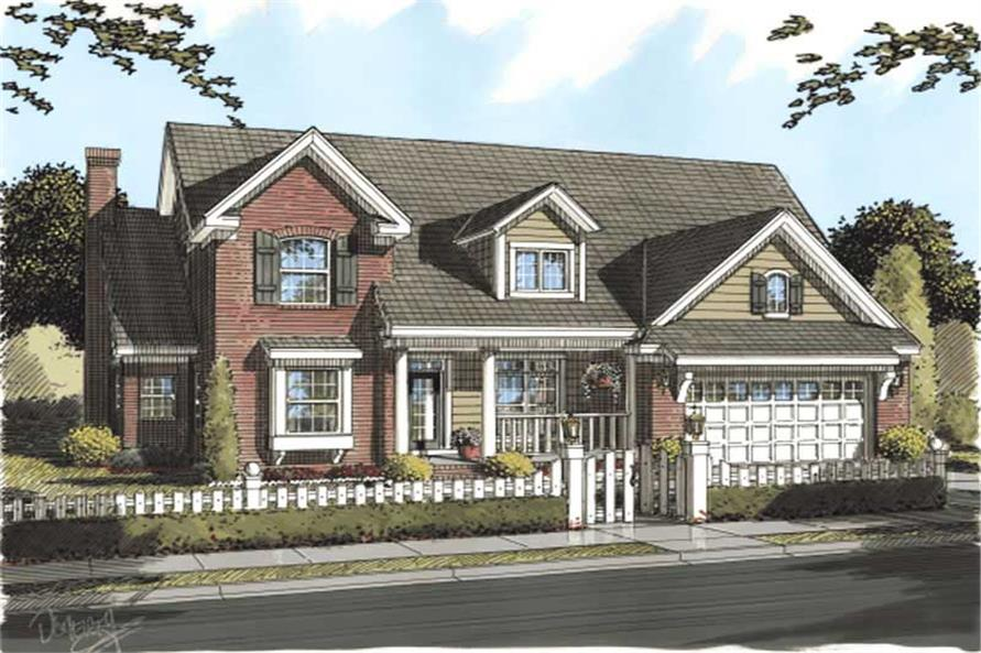 Main image for house plan # 11762
