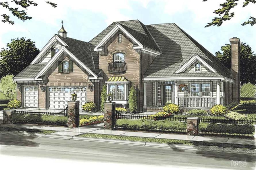 Main image for house plan # 11761