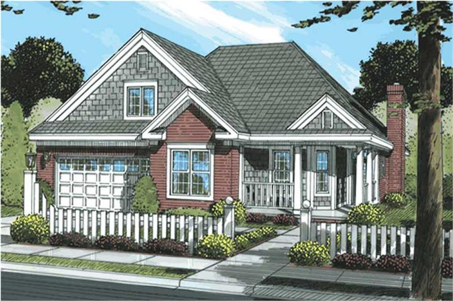 Main image for house plan # 11751