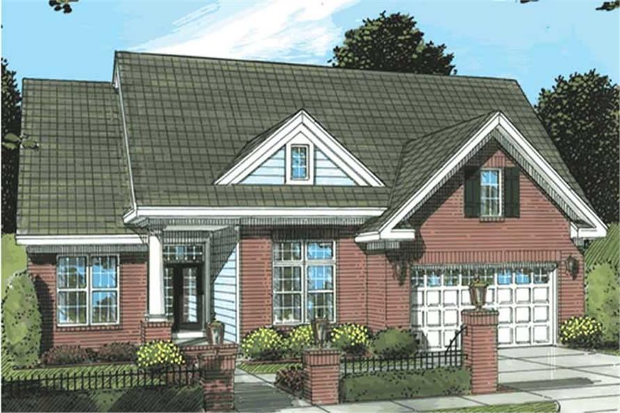 Main image for house plan # 11749