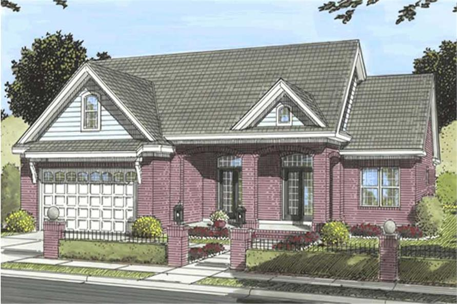 Main image for house plan # 11742