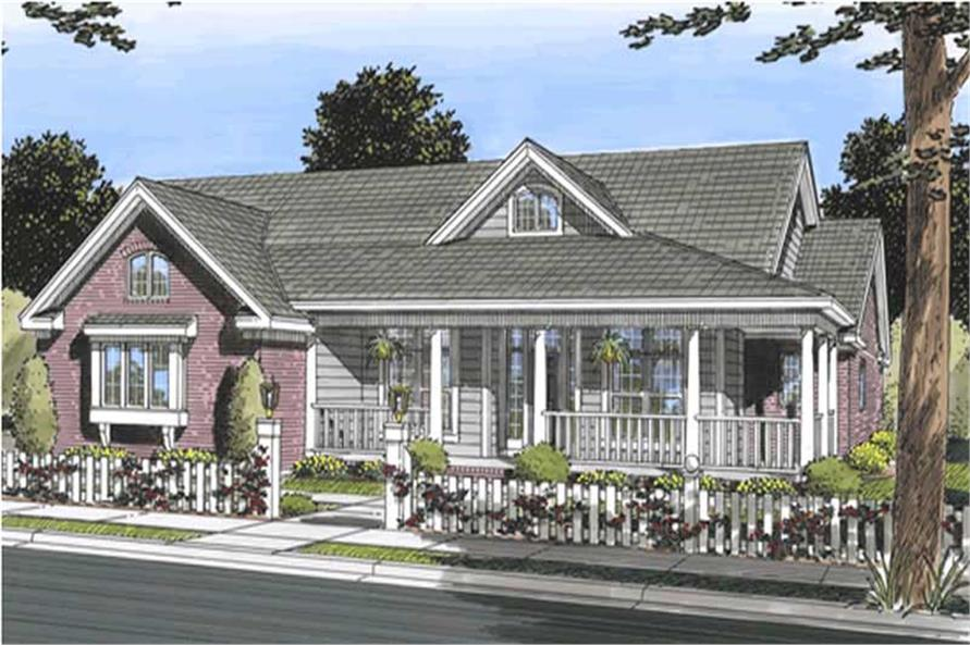 Main image for house plan # 11741
