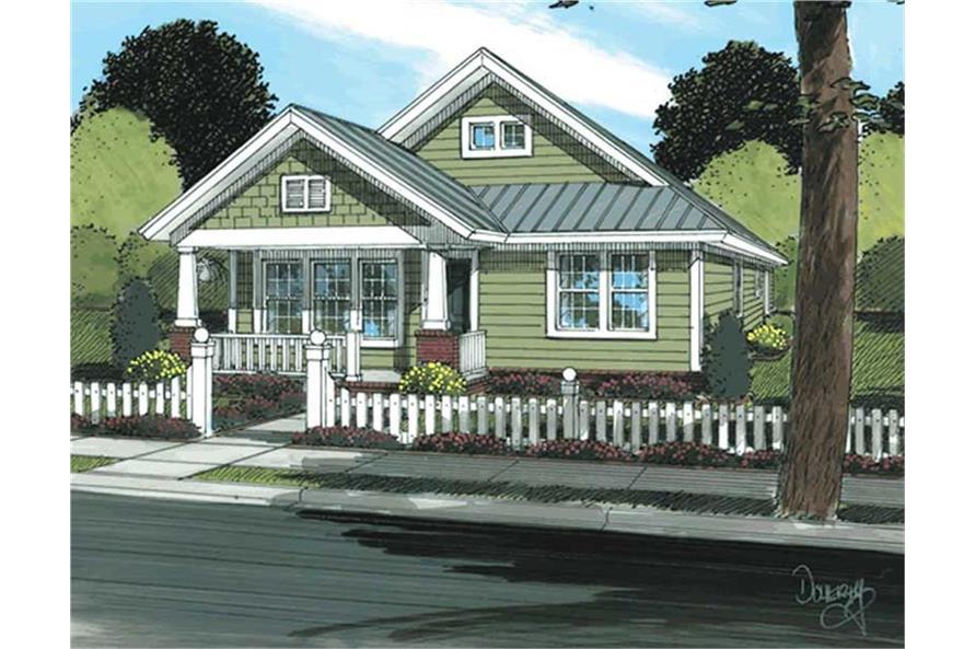 178-1174: Home Plan Rendering