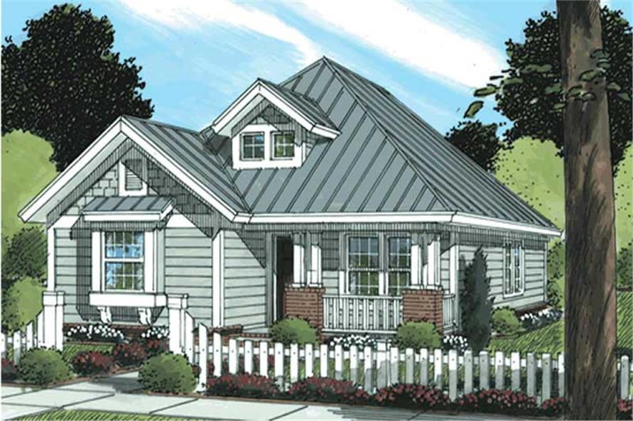 Main image for house plan # 11724
