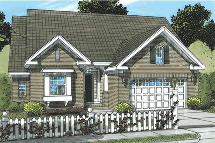Main image for house plan # 11750