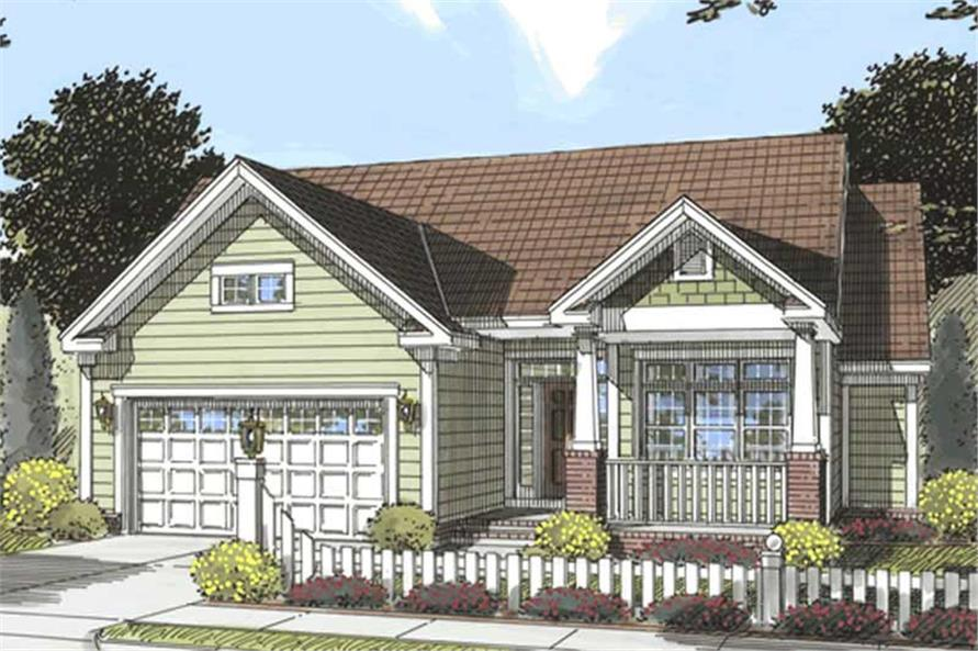 Main image for house plan # 11736