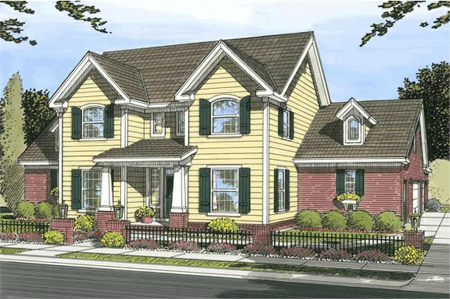 Main image for house plan # 11744