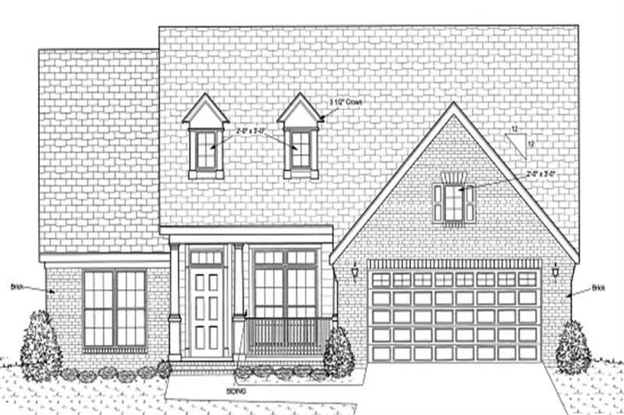 Main image for house plan # 11753