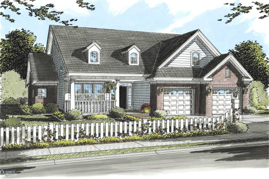 Main image for house plan # 11765