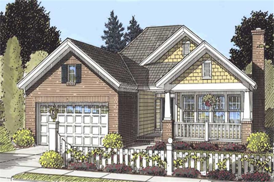Main image for house plan # 11734