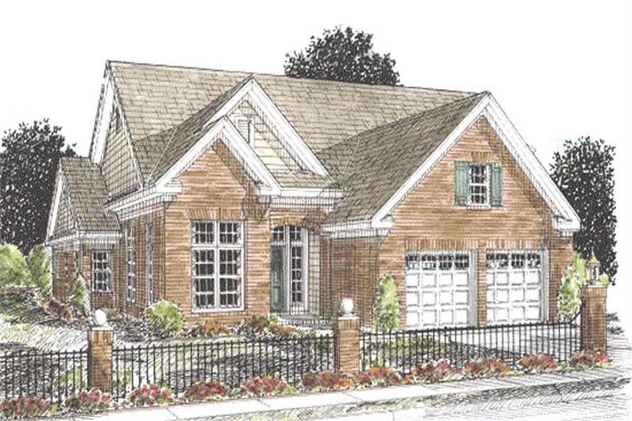 Main image for house plan # 11778