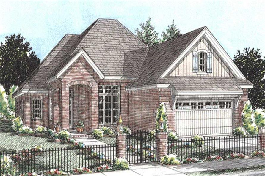 Main image for house plan # 11784