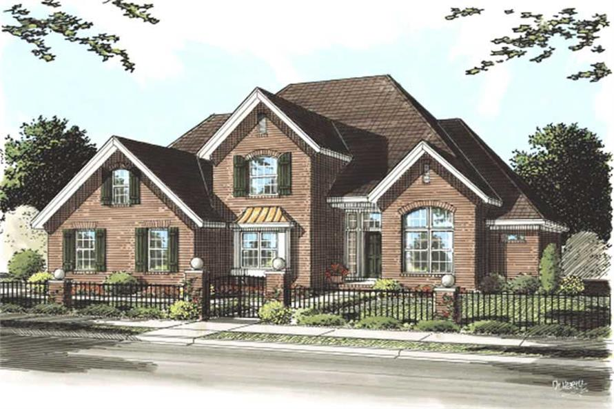Main image for house plan # 11766