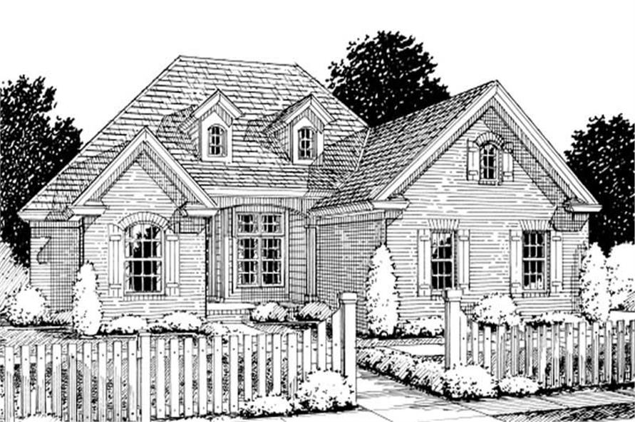 Main image for house plan # 11790