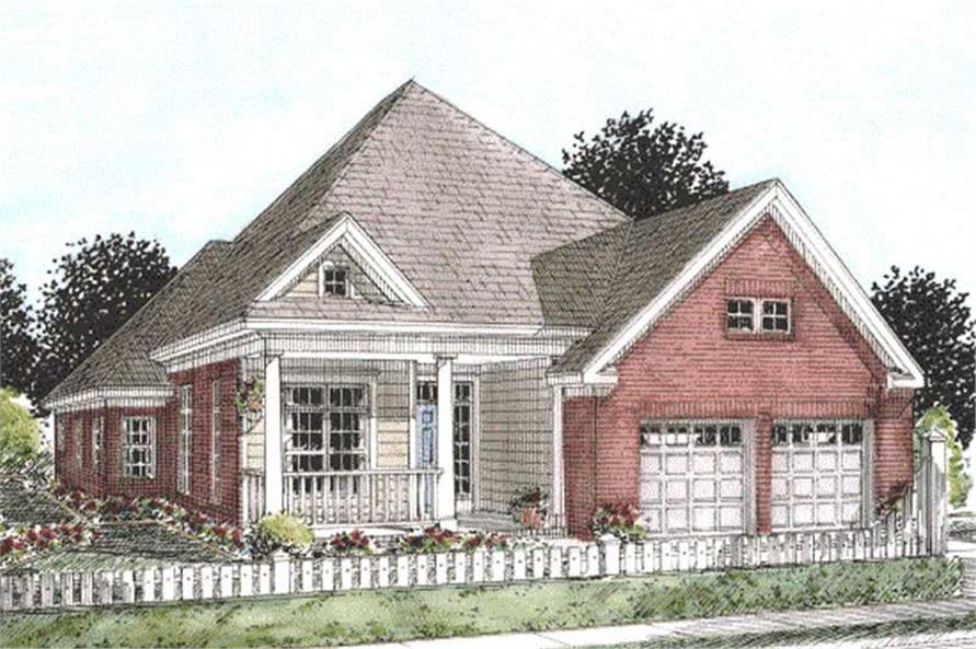 Main image for house plan # 11780