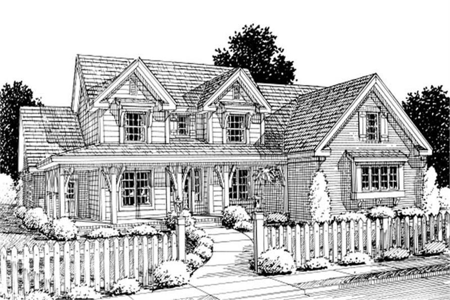 Main image for house plan # 11791