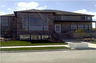 3-Bedroom, 2664 Sq Ft Contemporary Home - Plan #187-1005 - Main Exterior