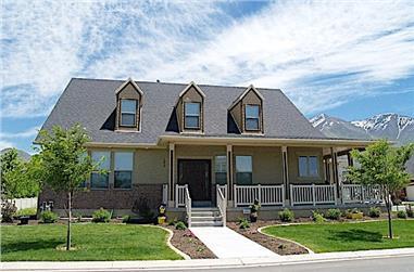 3–6-Bedroom, 2631 Sq Ft Cape Cod Home - Plan #187-1006 - Main Exterior
