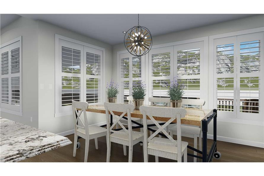 Dining Room of this 3-Bedroom,2920 Sq Ft Plan -2920