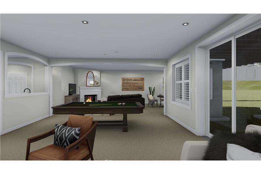 Home Plan Rendering of this 3-Bedroom,2920 Sq Ft Plan -2920