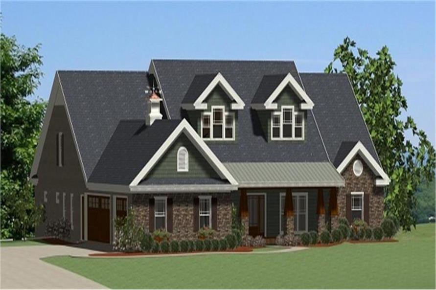 189-1001: Home Plan Rendering