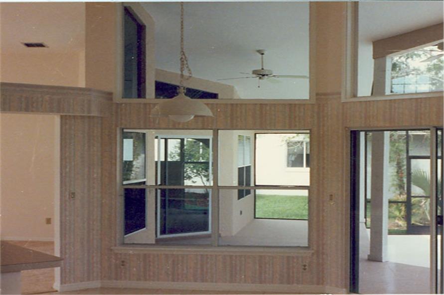 190-1008: Home Interior Photograph-Kitchen: Breakfast Nook
