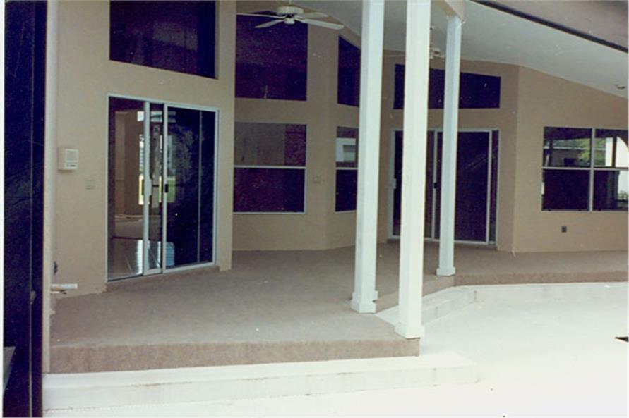 190-1008: Home Exterior Photograph-Patio