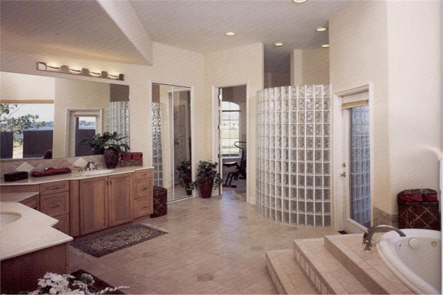 190-1012: Home Interior Photograph-Master Bathroom