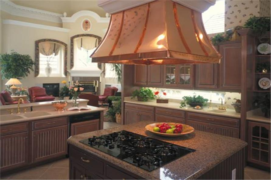 190-1014: Home Interior Photograph-Kitchen