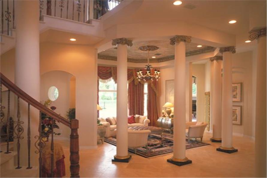 190-1014: Home Interior Photograph-Living Room