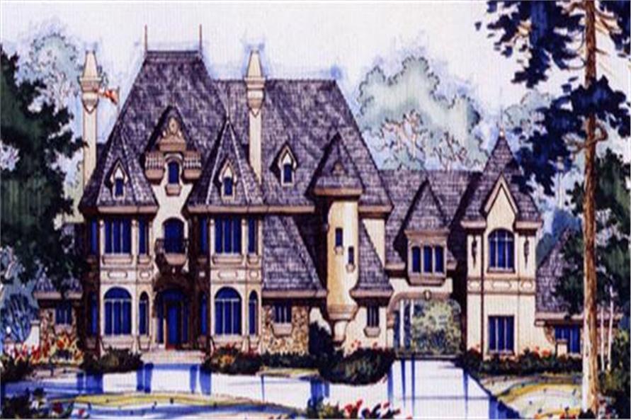 190-1014: Home Plan Rendering