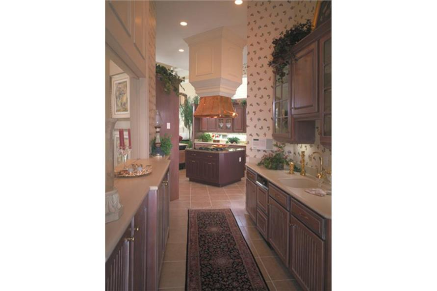 190-1014: Home Interior Photograph-Kitchen: Pantry