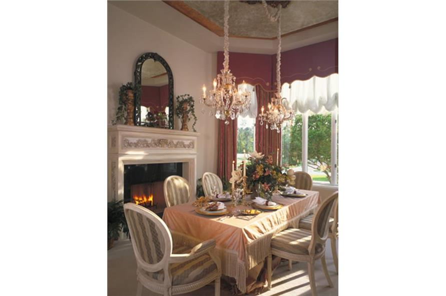 190-1014: Home Interior Photograph-Dining Room