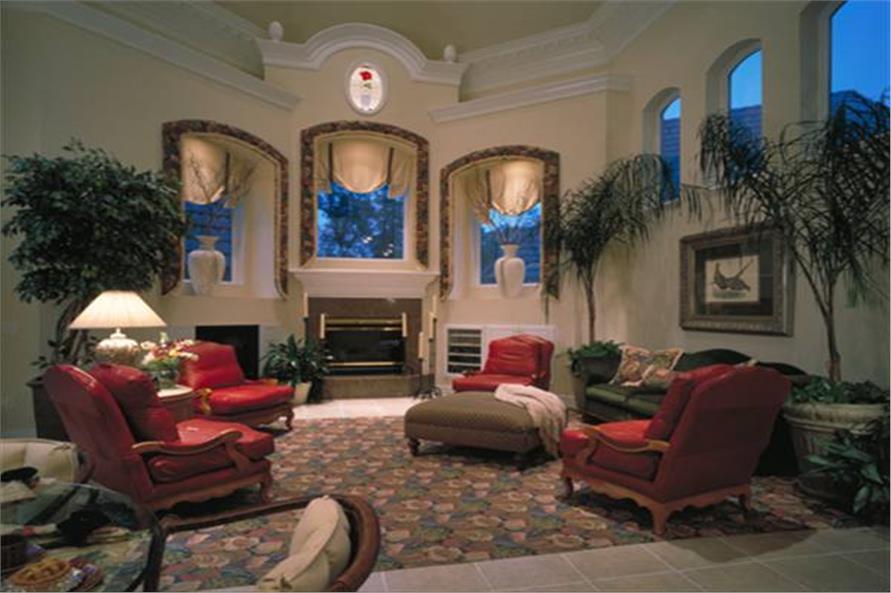 190-1014: Home Interior Photograph-Family Room