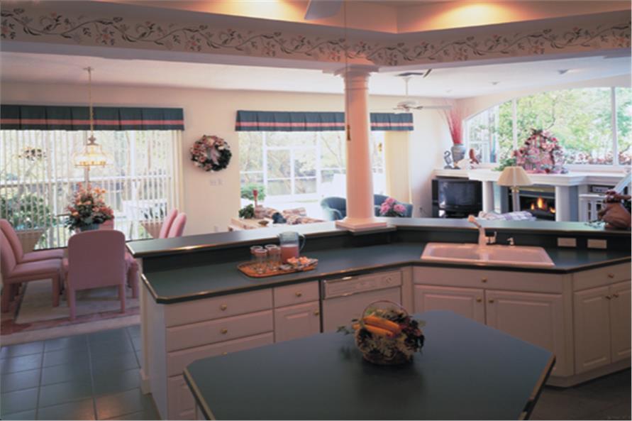 190-1018: Home Interior Photograph-Kitchen
