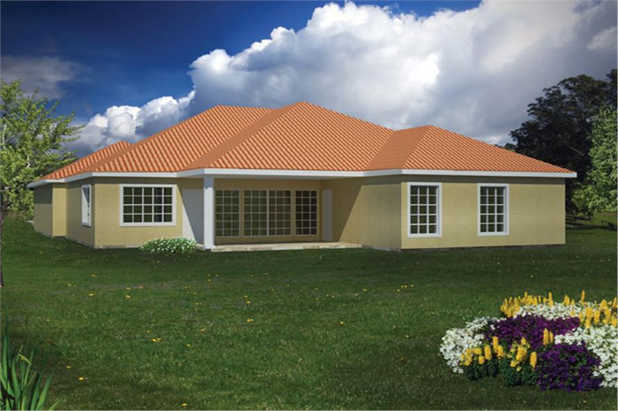 191-1003: Home Plan Rendering