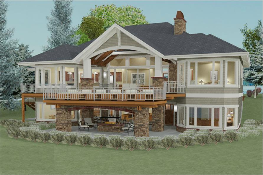 Landscaping of this 2-Bedroom,2605 Sq Ft Plan -2605