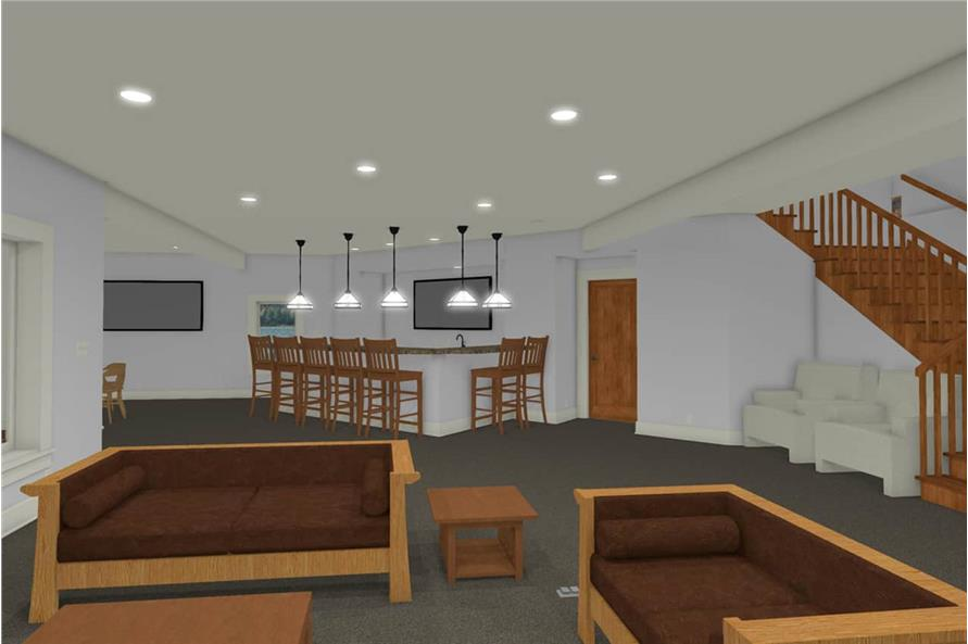 Playroom of this 2-Bedroom,2605 Sq Ft Plan -2605