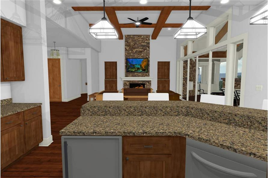 Kitchen of this 2-Bedroom,2605 Sq Ft Plan -2605