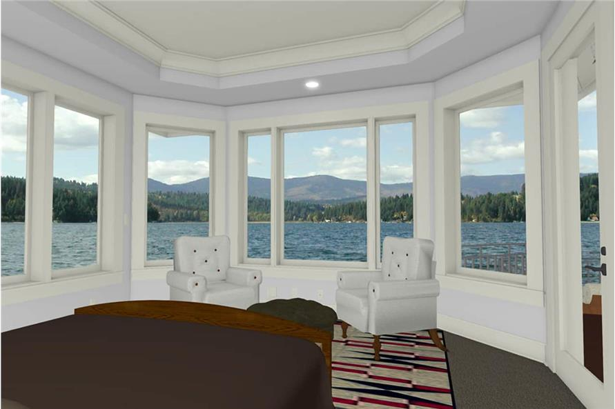 Master Bedroom of this 2-Bedroom,2605 Sq Ft Plan -2605